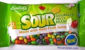 Gimbal's Sour Gourmet Jelly Beans 13oz Bag by Gimbal's