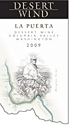 2009 Desert Wind La Puerta Dessert Wine Columbia Valley Washington 375 ml