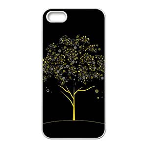 The Circle Tree Hight Quality Plastic Case for Iphone 5s