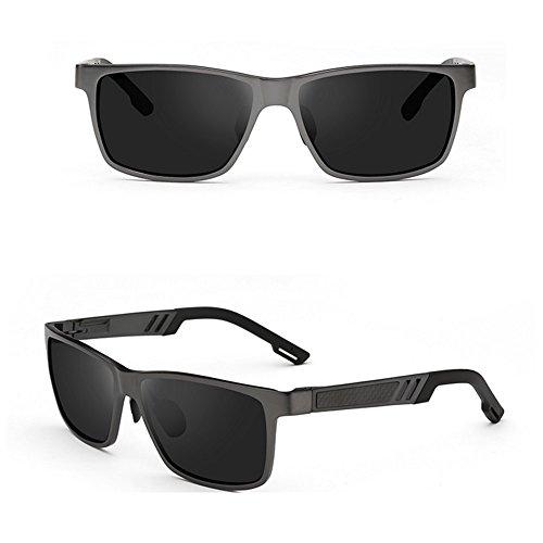 Gafas conducción Gafas Gafas Color de para de Gafas polarizadas sol sol sol B de UV400 deportivas de 100 aviador Gafas B de hombre de sol SSSX PFYdZnqYw