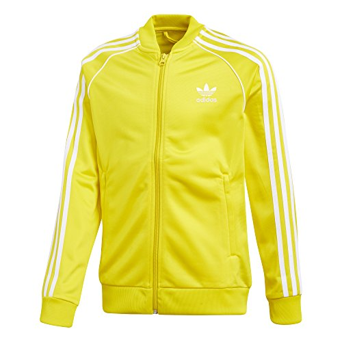s' Big Originals Superstar Tracktop, Yellow, L ()