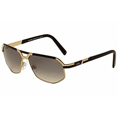2941c10ec10 Cazal 9056 Sunglasses 001 Black   Gold   Grey Gradient Lens 61mm