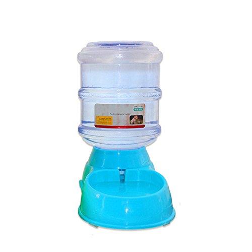 ECYC 3.5L Automatic Pet Dog Cat Bowl Bottle Water Drinking Dispenser,Blue