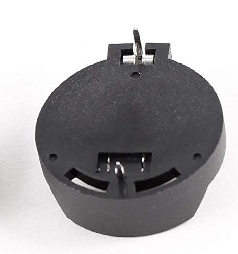 Battery Socket Holder Case For Button Coin Cell Cr2025 Cr2032 - Black