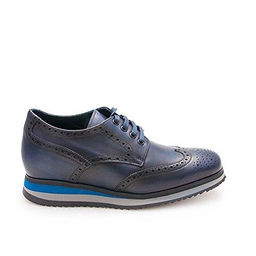 anhebender Unsichtbare Männer Schuhe Leder Ihre bis cm Versteckter Ihre Ferse Zerimar 7 Für Körpergrösse Zu auf Weise Höhe Erhöhen Marineblau 100 Höhe Erhöht Steigerung qFSXx7