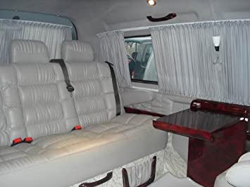 Neu VW T5 Gute Nacht Paket Gardinen Sonnenschutzgardinen Komplett