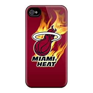 Great Hard Cell-phone Cases For Iphone 6 (MYS6161wkZg) Unique Design HD Miami Heat Pattern