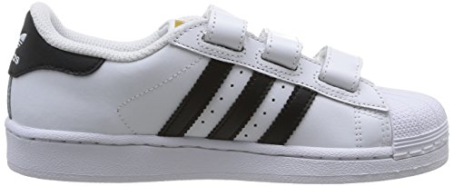 adidas Superstar Foundation CF C - Zapatillas para niño Blanco / Negro