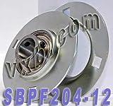 SBPF204-12 3/4 Pressed Steel Bearing Unit 3-Bolt