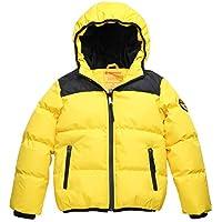 Wantdo Boy's Winter Coat Waterproof Thick Padded Winter Jacket with Hood