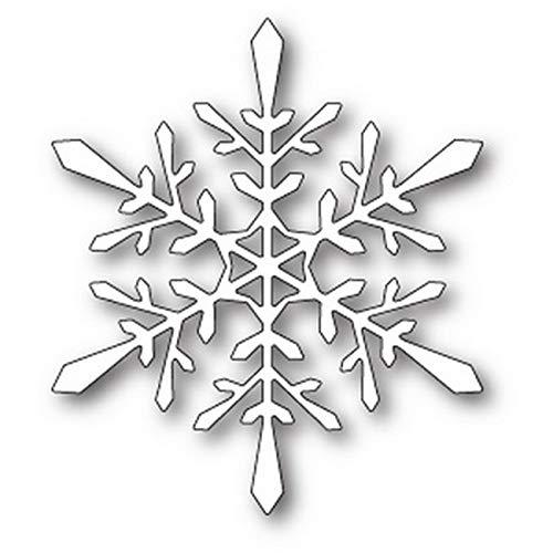 Poppystamps - Dies - Fractal Snowflake (1853) ()