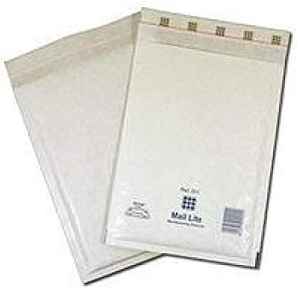 200 Mail Lite Gold A//000 GENUINE Sealed Air BUBBLE PADDED ENVELOPES 110X160