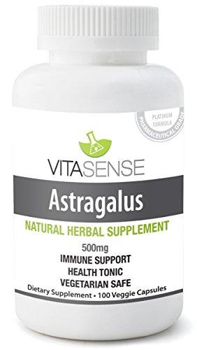 (VitaSense Astragalus 1000 mg - Immune System Support - 60 softgels)