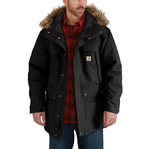 nd Tall Quick Duck Sawtooth Parka, Black, 3X-Large (Big And Tall Parkas)
