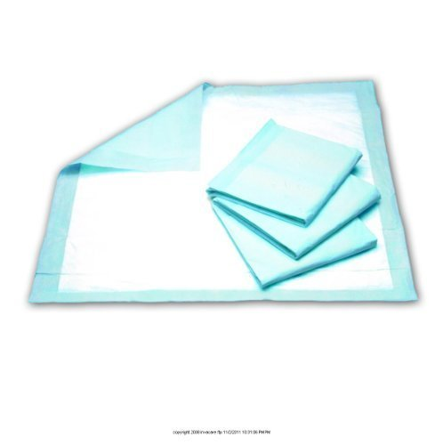 Select Underpad - Select Disposable Underpad, Bed Pad 23X36 Blue Large, (1 PACK, 25 EACH) by PRINCIPLE BUSINESS ENT