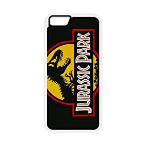 iPhone 6 Plus 5.5 Inch Cell Phone Case White Jurassic park yjix