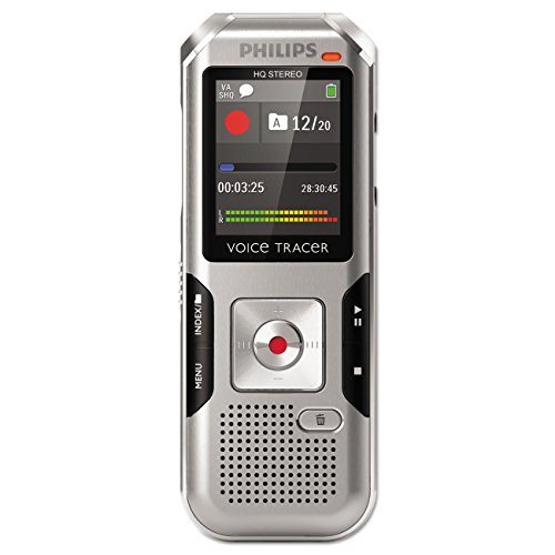 Philips Voice Tracer Dvt4000 Digital Voice Recorder - Portab
