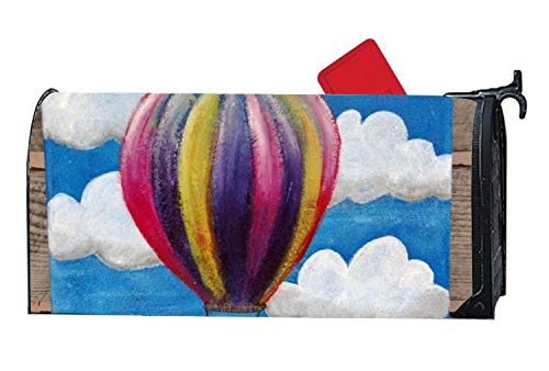 YongSD Mailbox Cover - Decorative Magnetic Mailbox Hot Air Balloon Design,Surrounds All 6.5''x 19''Standard or Traditional Size mailboxes by YongSD