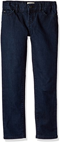 The Children's Place Little Girls' Skinny Jean, Super Dark Indigo, 5 by The Children's Place