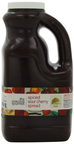 The Gracious Gourmet Spiced Sour Cherry Spread, 76-Ounce made in New England