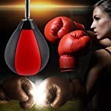 SEAAN Hicient Punching Bag Reflex Speed Bag with