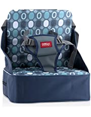 Nuby Easy Go Safety Lightweight High Chair Booster Seat,