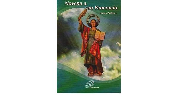 Novena A San Pancracio 9789586695831 Equipo Paulinas Books