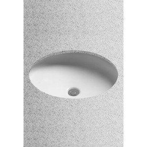 TOTO LT181#01 Curva Oval Undercounter Lavatory, Cotton ()