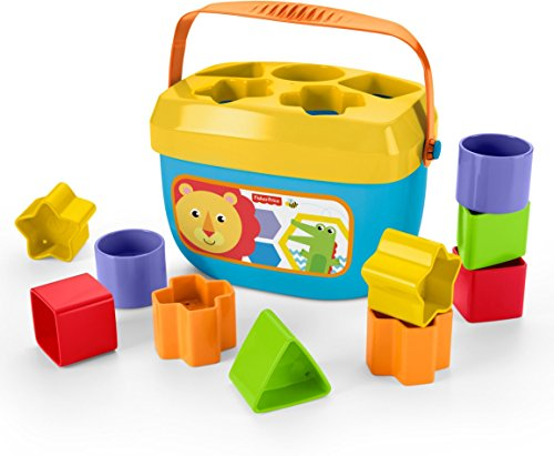 41A2yUVMNgL - Fisher-Price Baby's First Blocks Playset