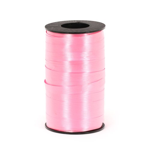 Berwick 3/8-Inch Wide by 250 Yard Spool Super Curl Crimped Splendorette Curling Ribbon, Azalea