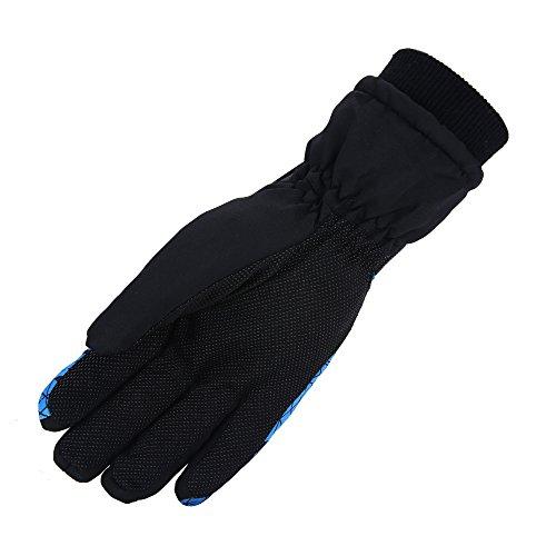 Sporttent Impermeabili Più Nero Inverno Snowboard Guanto Mens Snowboard Blu Sci Sulla Guanti Caldo Sport Antivento Quadrati Esterno E Neve Comodo rrwIdH