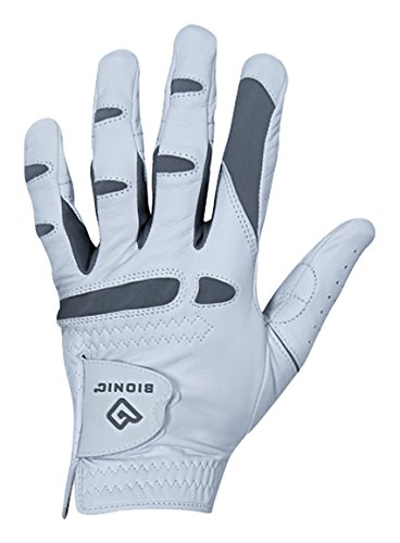 Bionic Gloves - Men's PerformanceGrip Pro Premium Golf Glove made from Long Lasting, Genuine Cabretta Leather