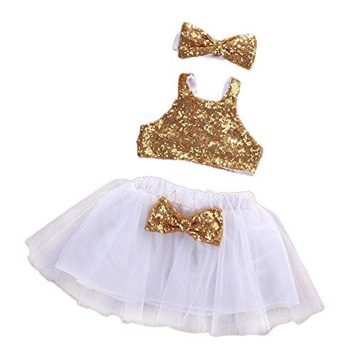 Sparkle Chiffon Skirt - 8