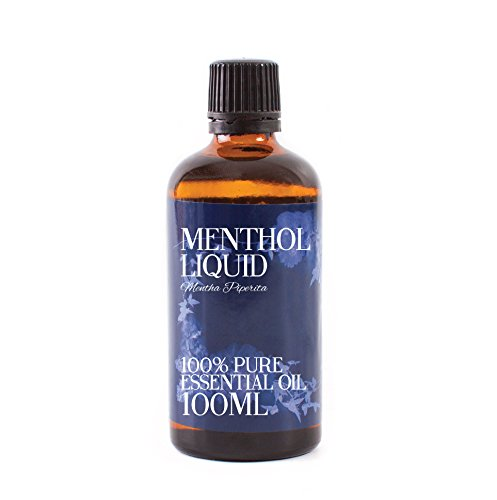 (Mystic Moments | Menthol Liquid Essential Oil - 100ml - 100%)
