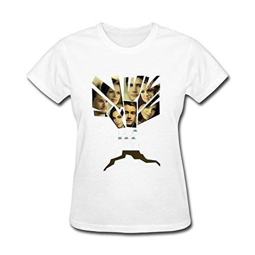 Guwmi Women's One Tree Hill Logo T Shirt White S