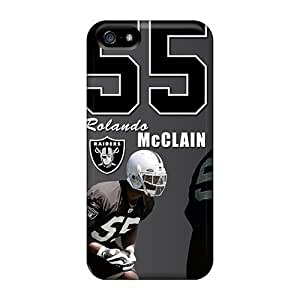 Rosesea Custom Personalized Iphone 5 5s Cases Bumper Covers For Oakland Raiders Accessories by kobestar