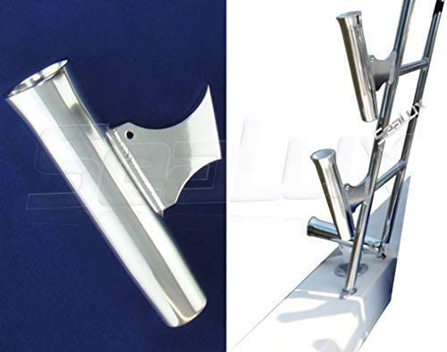 Taco Metals Flared Weld On Aluminum Rod Holder and Liner Marine Fishing
