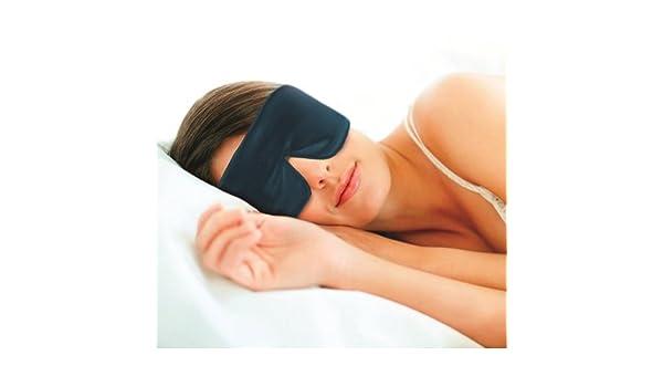 Máscara de dormir/máscara de ojos - Unisex - Ayuda con los socios de ronquidos - insomnio - trabajo de cambio - bandera de chorro para dormir realmente ...