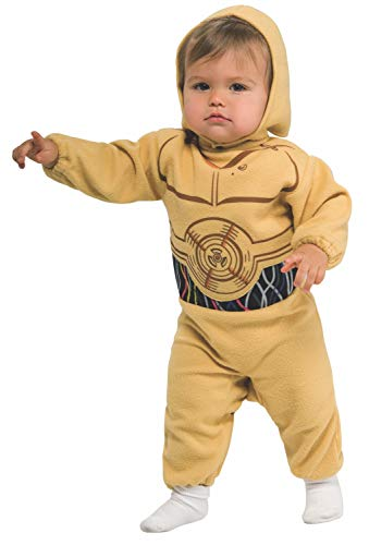 Star Wars Romper And Headpiece C-3Po, C-3PO Print, 6-12 Months -