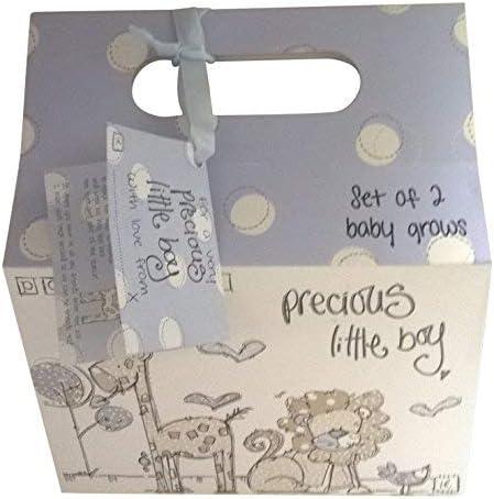 Pack de 2 Precioso Little Boy Baby Body Ropa Azul con bolsa de ...