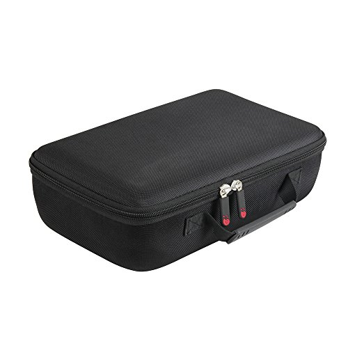 Hermitshell Hard Travel Case for DR.J Professional HI-04 1080P Supported 4Inch Mini Projector (Black)