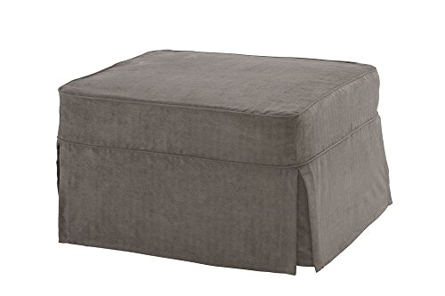 Castro Convertibles™ Single Ottoman with Zen Gray Cover For Sale