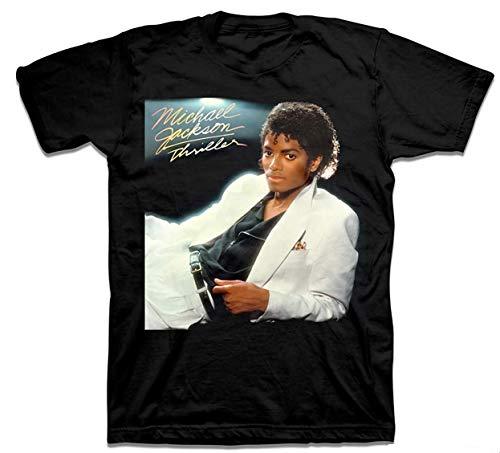 - Michael Jackson Thriller Mens Black T-Shirt (Large)