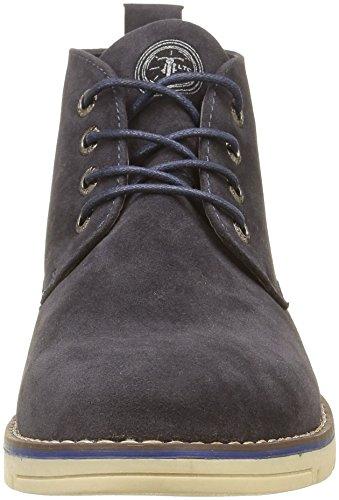 Japan Rags Hudson, Sneakers Hautes Homme, Bleu (Navy), 40 EU