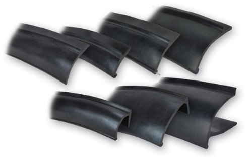 Pacer Performance 52-199 Flexy Flares Black Sample Flare Pack Rubber Fender Extension