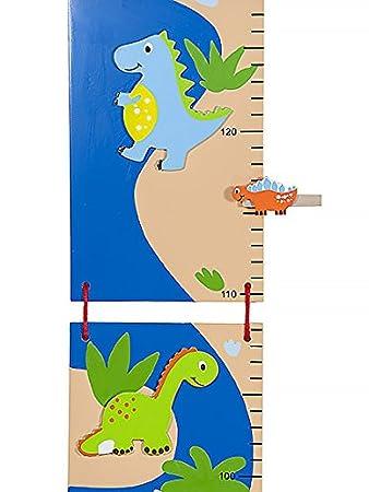 Azul Medidor de altura para niños dinosuar meauring Stick y ...