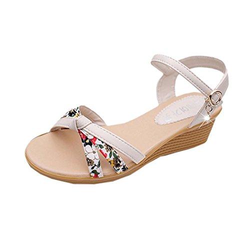Low Flip Summer Sandals toe Roman Summer Womens Shoes Peep Inkach White Ladies Flops Sandals Sandals qRav7W0