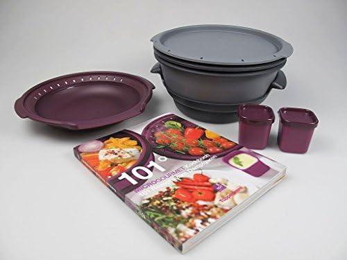 Tupperware para microondas I101 Gourmet + + Micro de cocción al ...