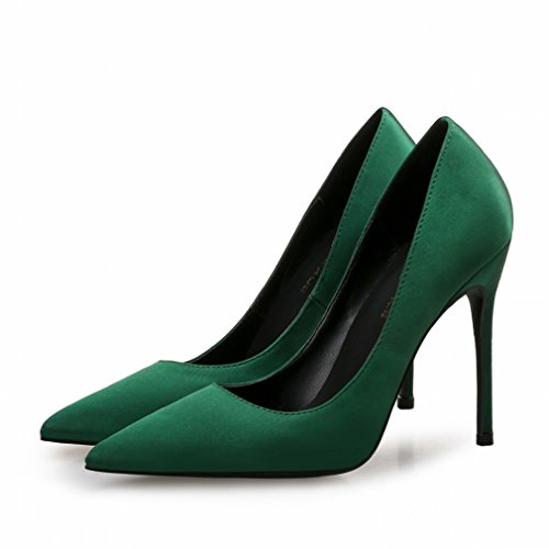 Flachem Y Hochhackige Mund Frauen Spitze Einzelschuhe Elegante Professionelle L B Schuhe Wilde mit 'S und BXqEqdY