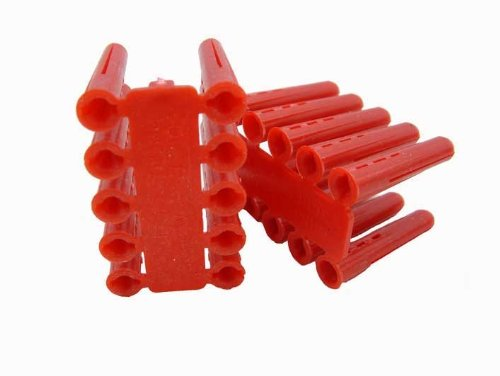 Deligo 51AP2 Red Raw Plugs 34.4 x 5.5mm Box of 100